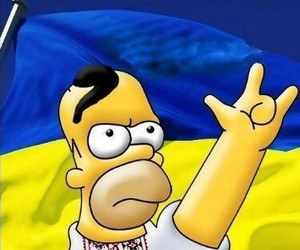 ukraine simpsons homer image
