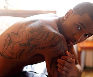 Hot, tattoo, and trey songz image