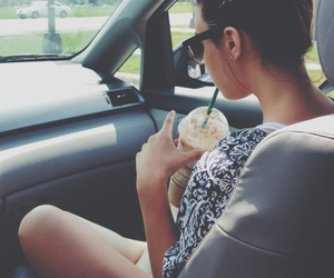coffee, hipster, and girl image