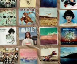 music, lana del rey, and indie image