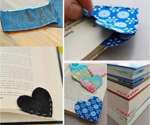 bookmark, diy, and do it yourself image