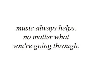 quote and music image