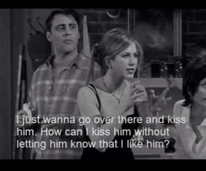 crush, him, and kiss image
