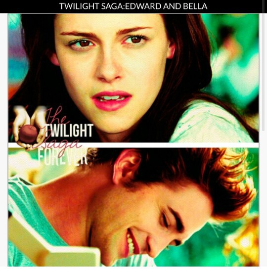 bella swan, couple, and edward cullen image
