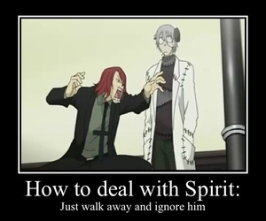 soul eater, anime, and spirit image