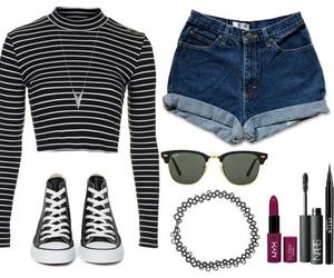 grunge, summer, and outfit image