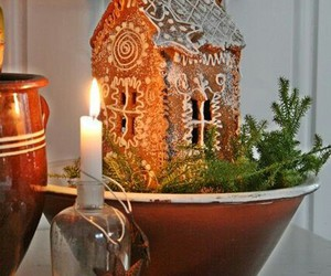 candles, vintage, and christmas image
