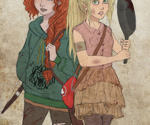 disney, merida, and rapunzel image