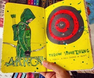 arrow, keri smith, and wreck this journal image