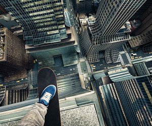 skate, city, and boy image