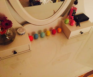 beauty, cool, and dressing table image