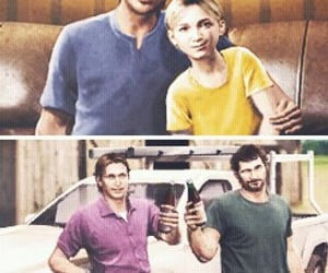 Joel, sarah, and the last of us image
