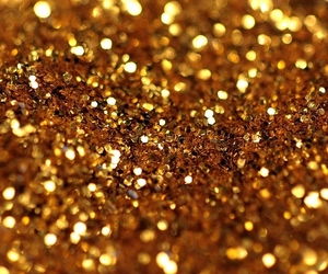gold, glitter, and sparkle image