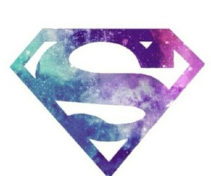 superman and galaxy image