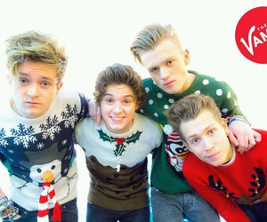 the vamps, tristan evans, and christmas image