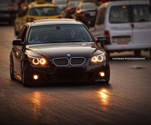 black, bmw, and m5 image