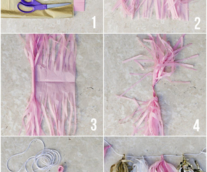 diy, garland, and girly image