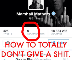 eminem, don't care, and funny image