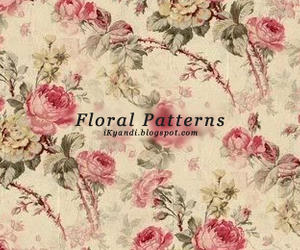 floral, girly, and flowers image