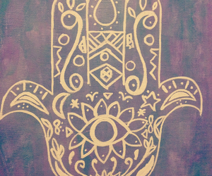 art, hipster, and peace image