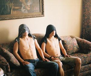 boy, shirtless, and photography image