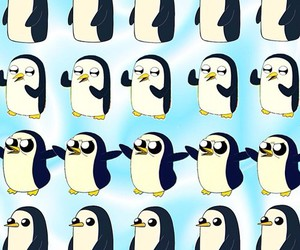 penguin, background, and wallpaper image