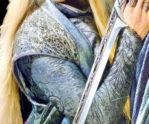 the hobbit, thranduil, and king image