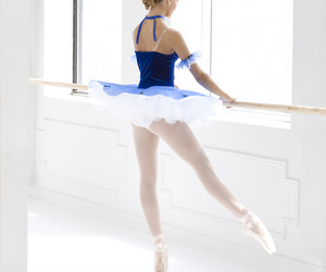 advertising, ballerine, and dance image