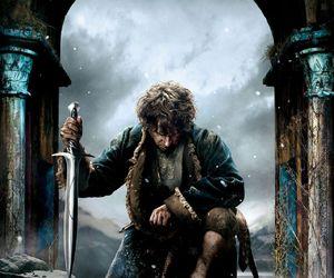 the hobbit, bilbo baggins, and Martin Freeman image