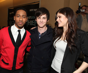 alex, logan lerman, and percy jackson image