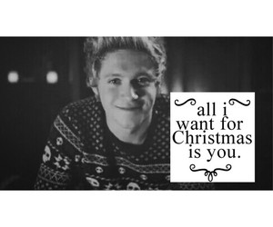 christmas and niall horan image