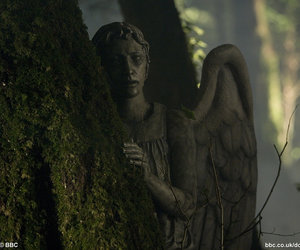 angel, doctor who, and weeping angel image