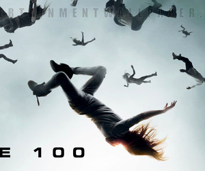 cw and the 100 image