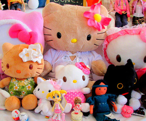 hello kitty, HelloKitty, and kawaii image