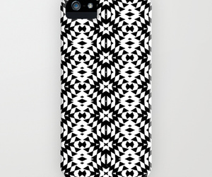 black and white, ornaart, and iphone 5 case image