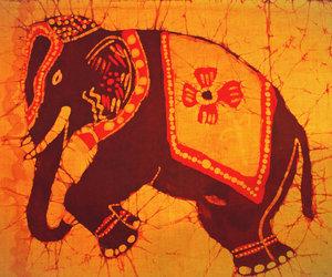 art, boho, and dye image