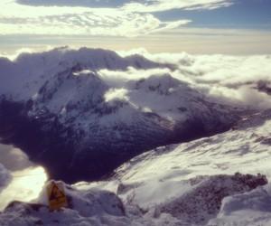 getaway, snow, and winter image