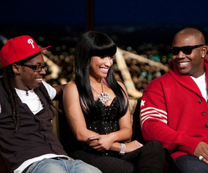 lil wayne, mtv, and nicki minaj image