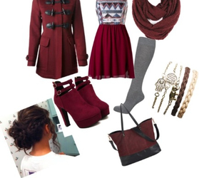 autumn, fashion, and knee high socks image