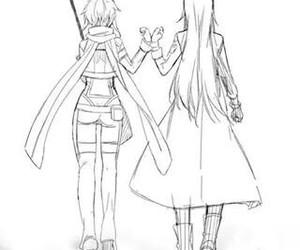 anime, kirigaya kazuto, and ggo image