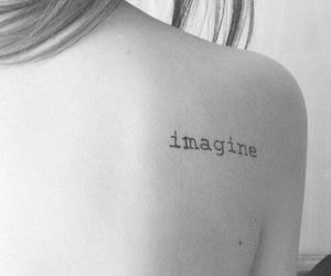imagine, ink, and tattoo image