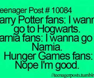 fans, harry potter, and narnia image