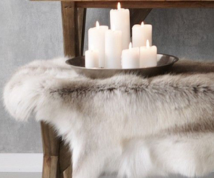 interior, candles, and winter image