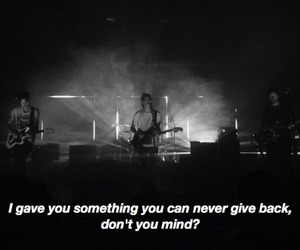 indie, the 1975, and lyric image