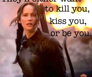 mockingjay, katnisseverdeen, and jenniferlawrence image