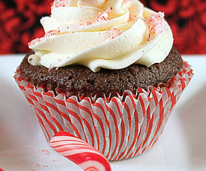 candy, candy cane, and cupcake image