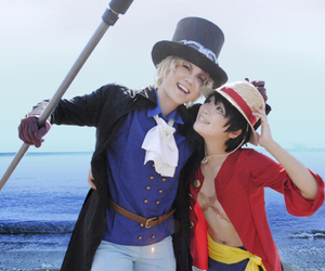 cosplay and one piece image