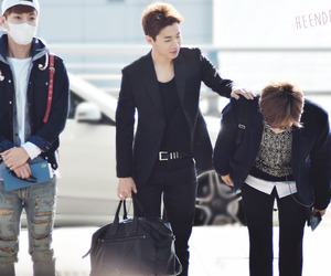 airport, Leeteuk, and SJ image