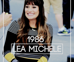 1986 and lea michele image