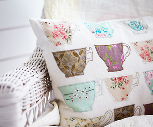 pillow and cup image